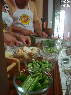 Thai Cooking class in Phuket - fresh food from local market