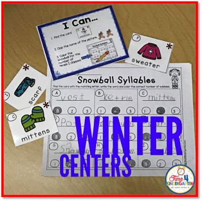 teaching syllables in kindergarten, Time 4 Kindergarten