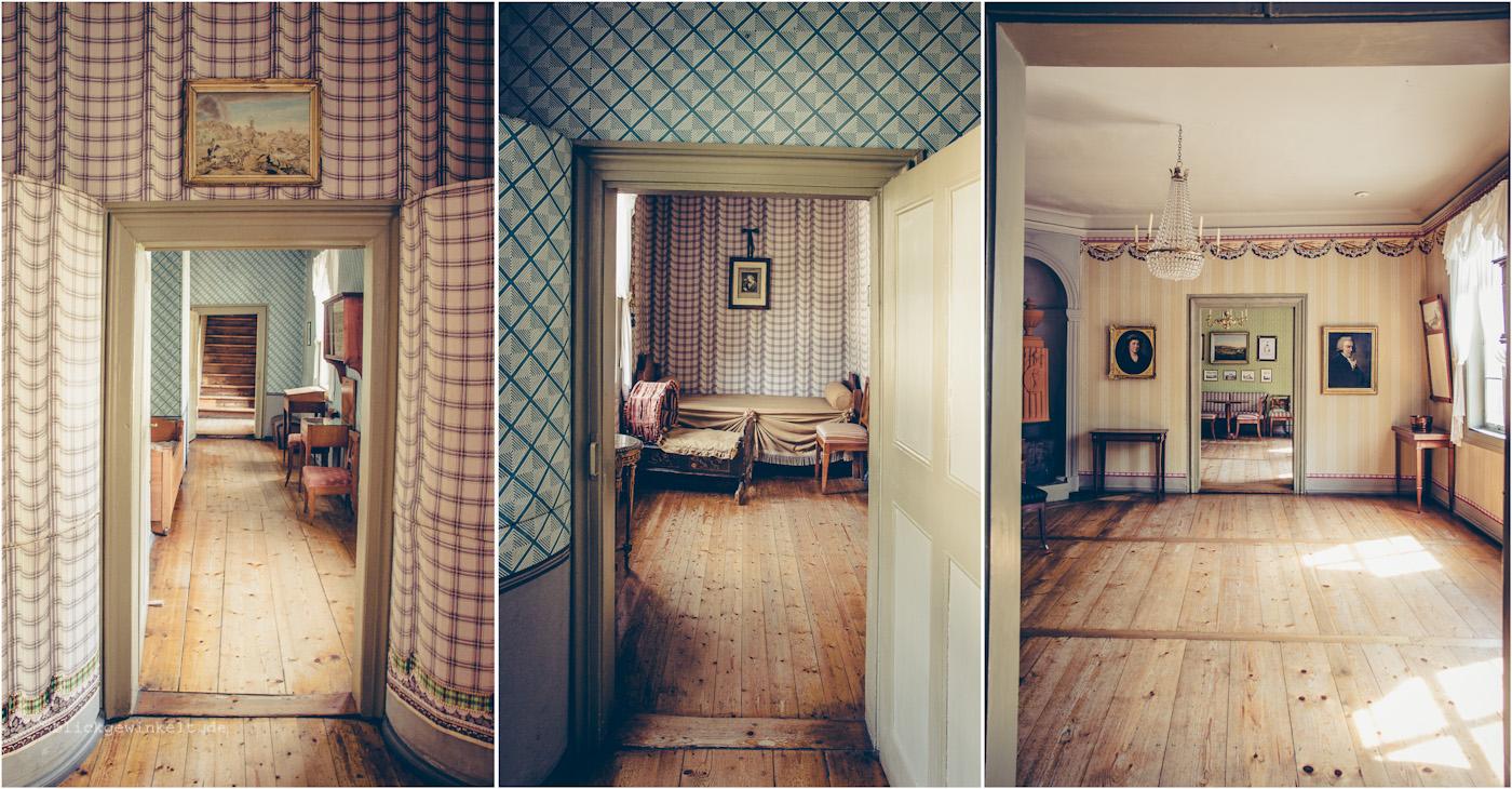 Schillers Wohnhaus, Innenansicht