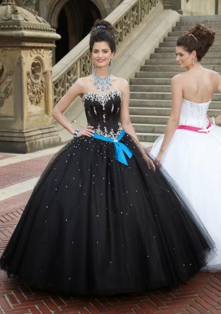 Fantásticos vestidos de 15 años para fiestas de quince