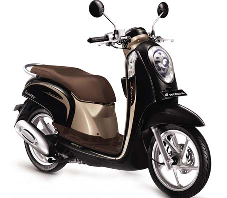 honda scoopy скутер