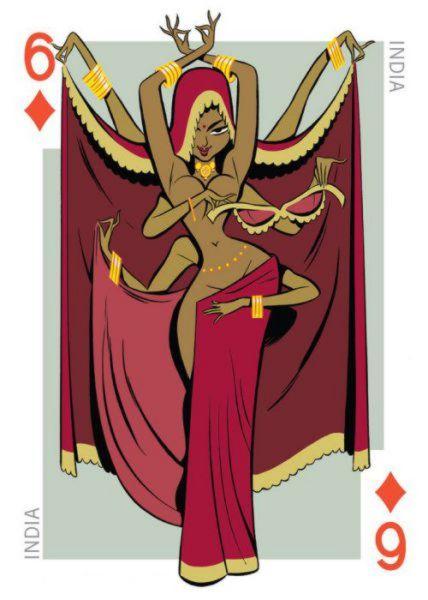 Permainan kartu dari berbagai negara