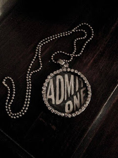 OOAK Admit One design by The Pickled Hutch