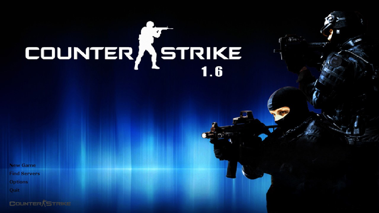 Counter strike 1.6 with 391 maps and bots full version