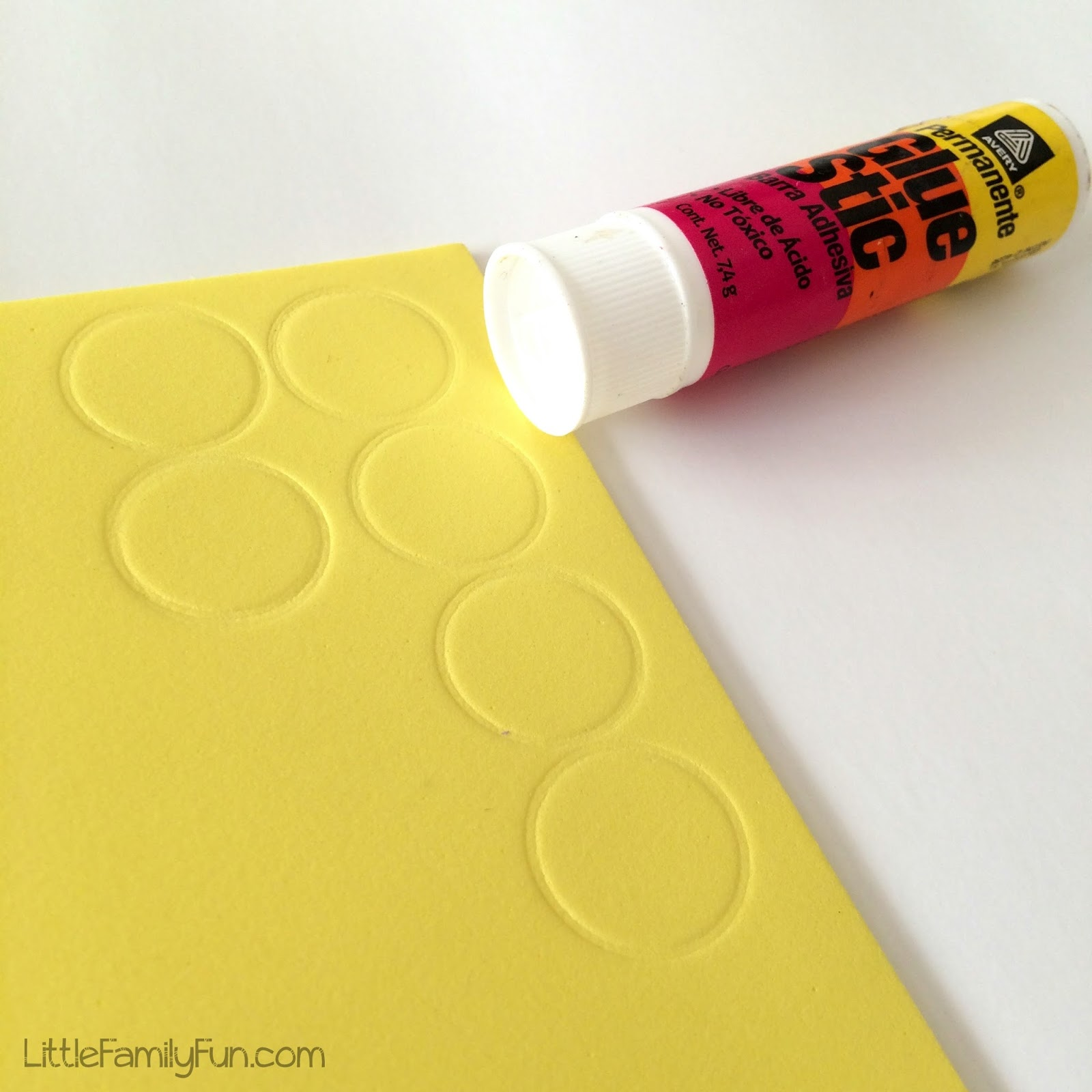 Mango tree math for preschoolers for Best glue for craft foam