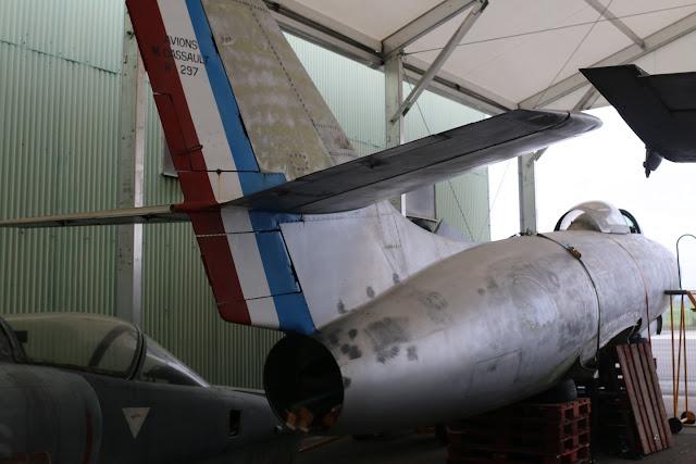 Dassault MD 450 Ouragan N°297