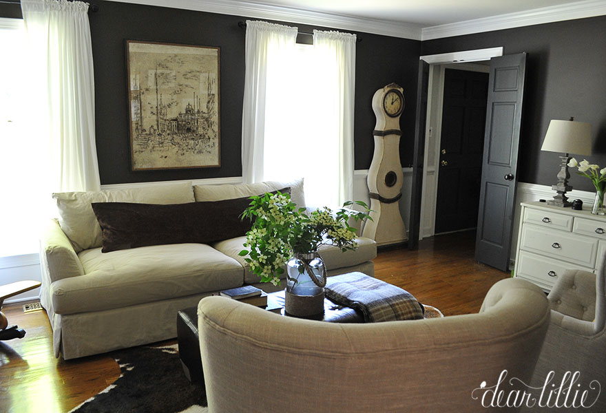 Our Arhaus Sofa