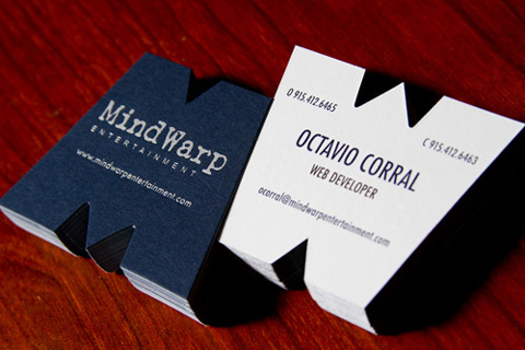 25) Business Card