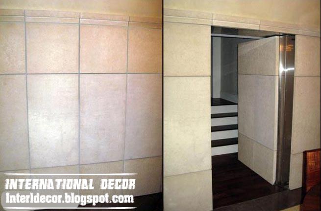 Hidden doors secret doors designs ideas pictures for Hidden bathroom door ideas