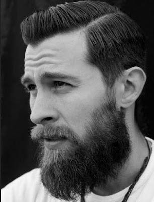 gaya rambut side line pria