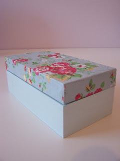 Cath Kidston Decoupage Wooden Box