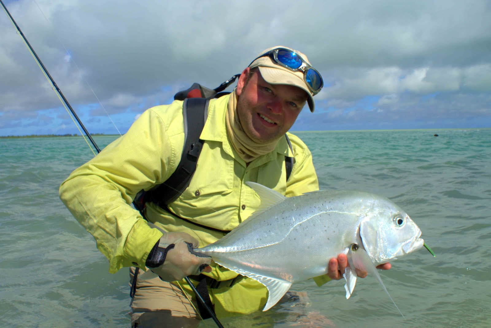 Fly odyssey newsletters christmas island fly fishing report for Christmas island fly fishing
