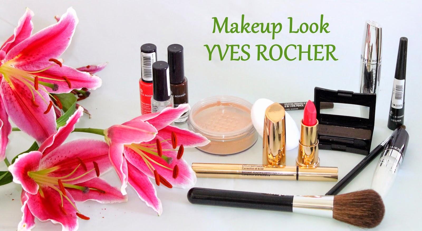 beaut brune autumn makeup look avec yves rocher. Black Bedroom Furniture Sets. Home Design Ideas