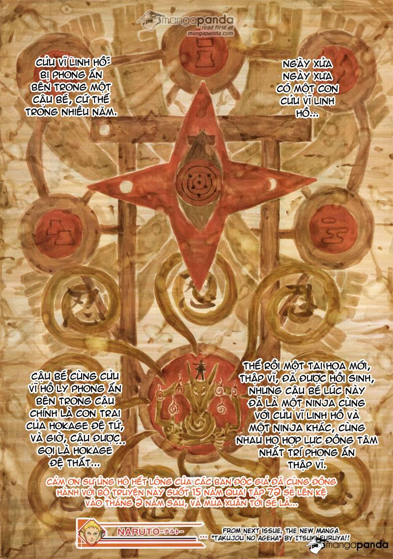 Naruto Chap 700 - Trang 22