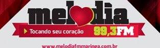 ouvir a radio Melodia FM 99,3 ao vivo e online Maringá