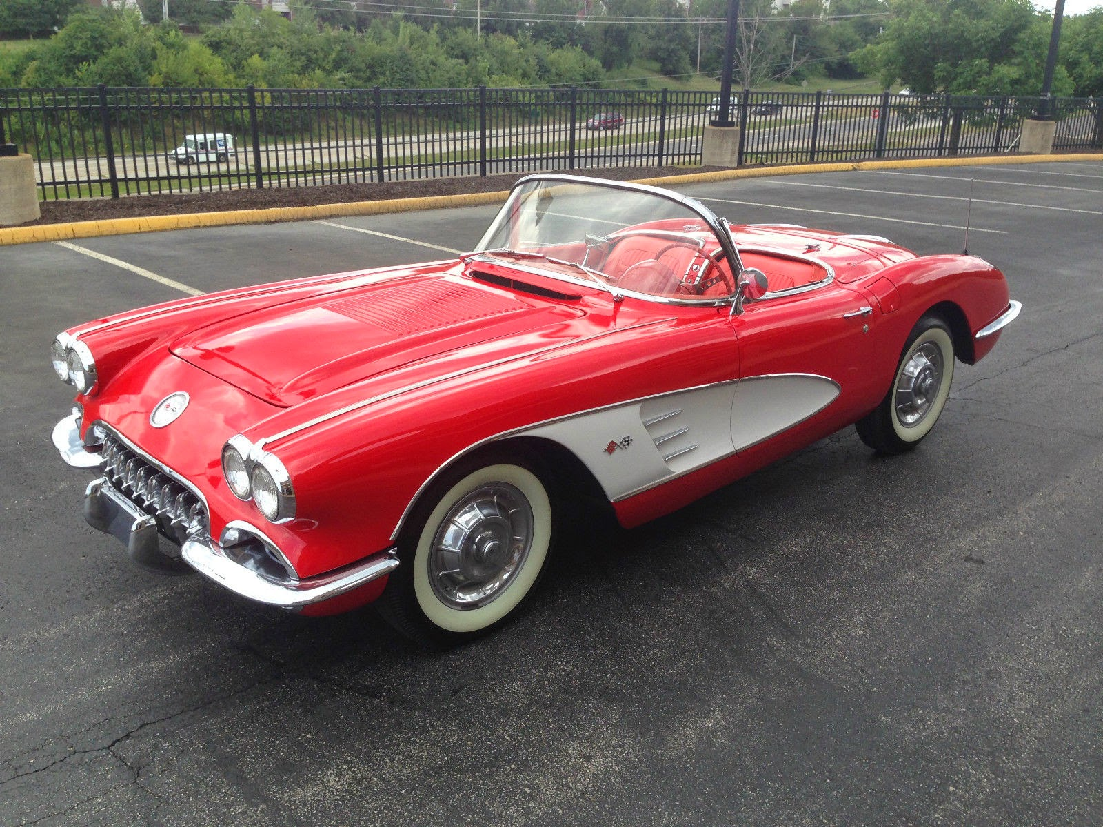 All american classic cars 1958 chevrolet corvette 2 door for American and classic cars