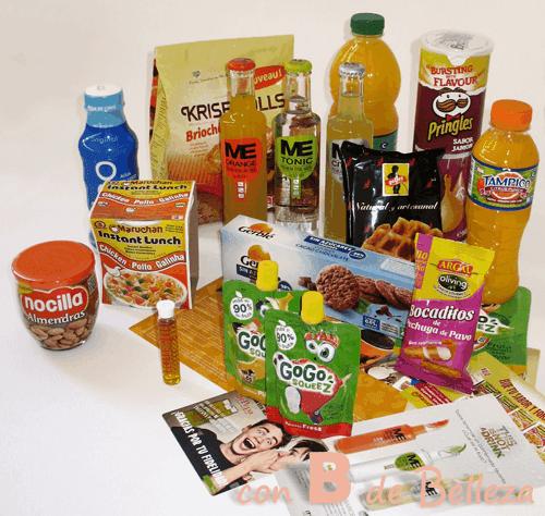 Caja comida Octubre