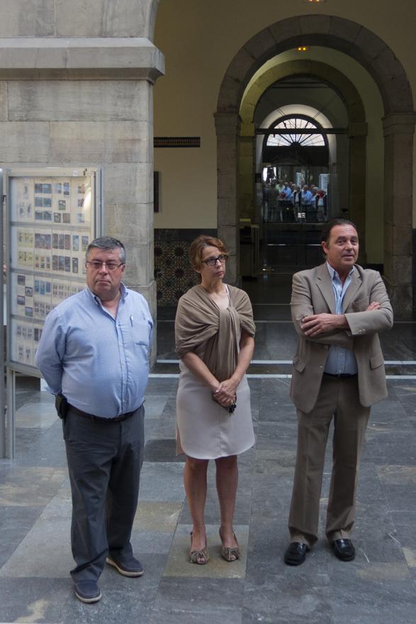 Inauguración de la XXII Jornadas Filatélicas en Gijón