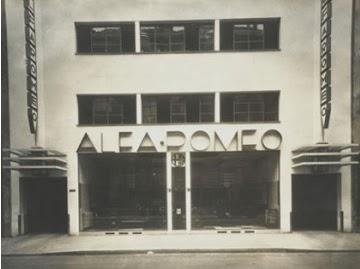 Le blog des amis de la villa cavrois uvre for Garage alfa romeo paris