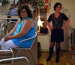 Från 124kg till 79kg