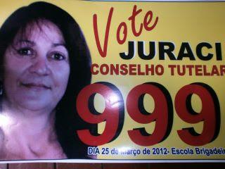 Juraci para o Conselho Tutelar - 999