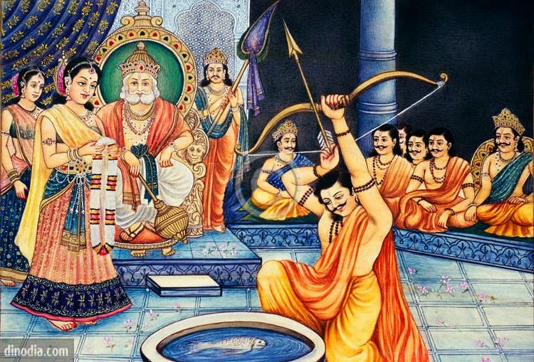 Swayamvar of Draupdi