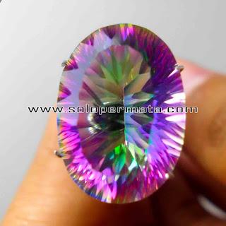 Batu Permata | Rainbow Quartz | Mistique Quartz