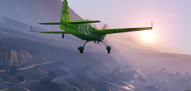 GTA 5 Flying Stat Image
