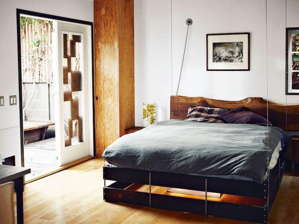 küçük yatak odası çözümleri
