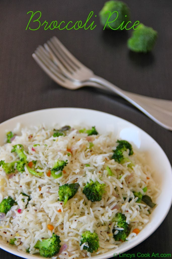 how to cook broccoli rice