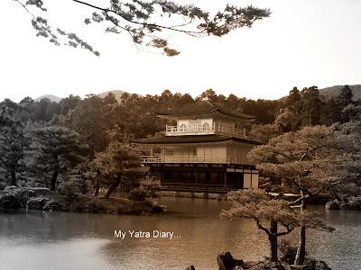 The Kinkaku-ji or the Golden pavillion of Kyoto in Japan