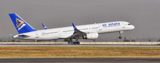 Air Astana в аэропорту Алматы