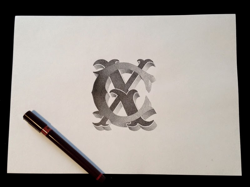 07-Xavier-Casalta-Illustrations-and-Typography-Stippling-www-designstack-co
