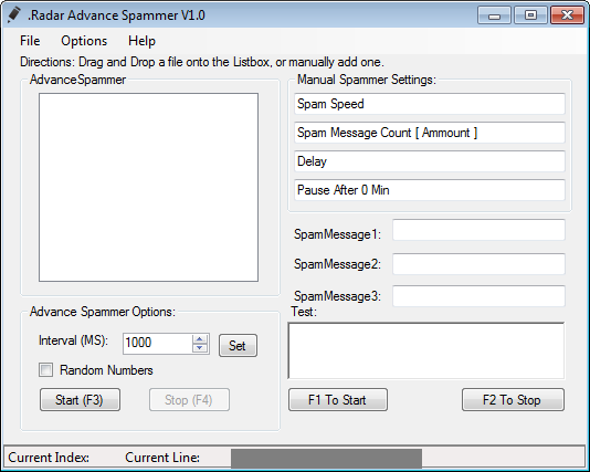 CrossFire Radar Advance Spammer Bot v1.0 indir &#8211; Download