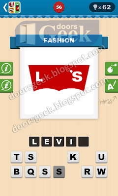Guess The Brand Level 56