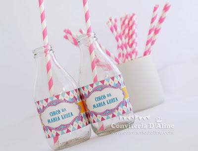 circo personalizado adesivos agua