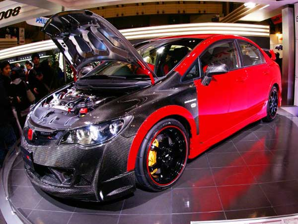 Modified Honda Civic ~ Modified Cars Zone
