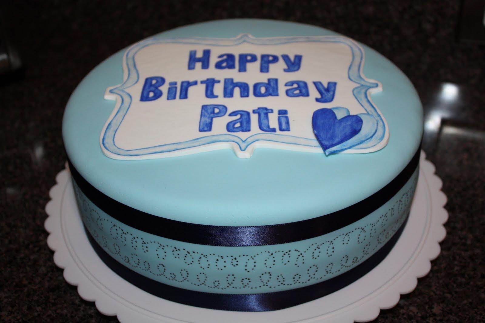 A Crafty Escape Fondant Birthday Cake