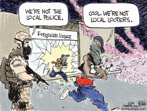 http://threepercenternation.com/2014/08/video-what-this-young-black-man-did-while-the-looting-in-ferguson-is-unbelievable/