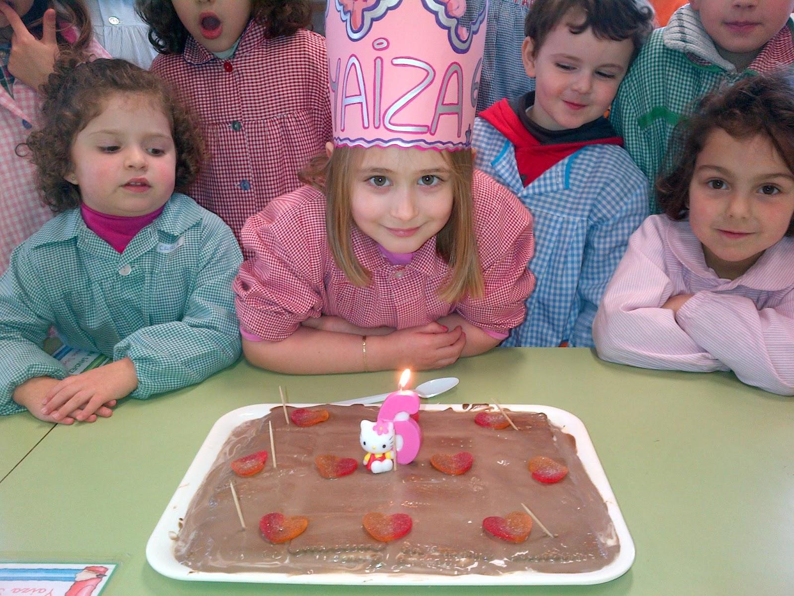 Yaiza cumple 6 años