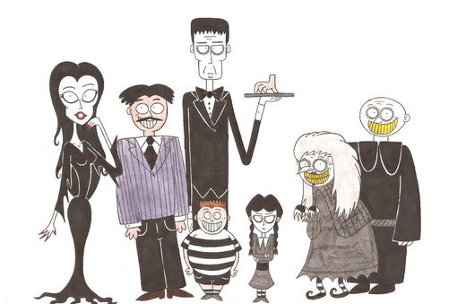 Welcome to the Addams Family por nerdsman567