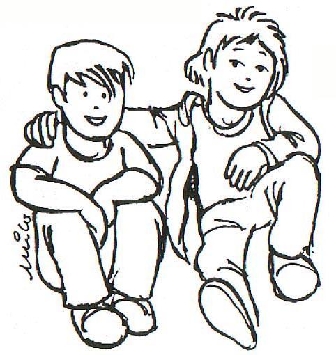 Dibujos de Amigos