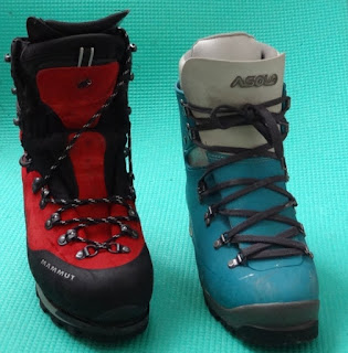 Plastic vs Leather Mountaineering Boots
