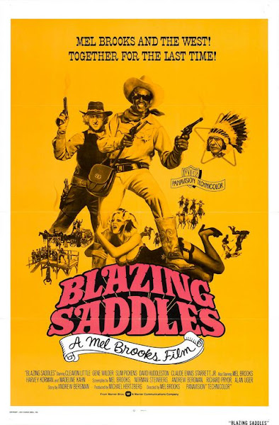 Watch Blazing Saddles (1974) Hollywood Movie Online | Blazing Saddles (1974) Hollywood Movie Poster