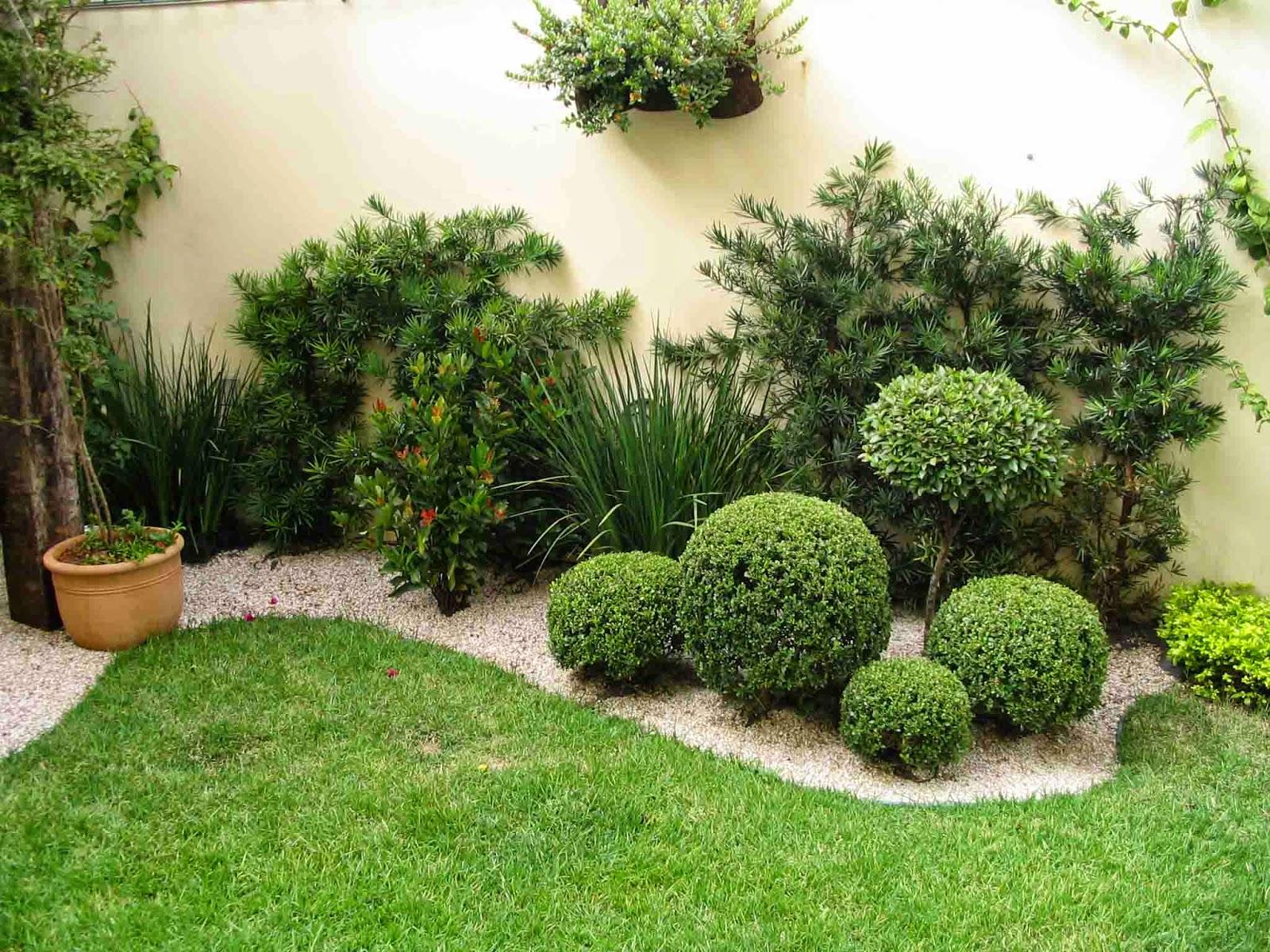 fotos de um jardim lindo : fotos de um jardim lindo:Jardins Residenciais – Fotos e modelos – Toda Atual