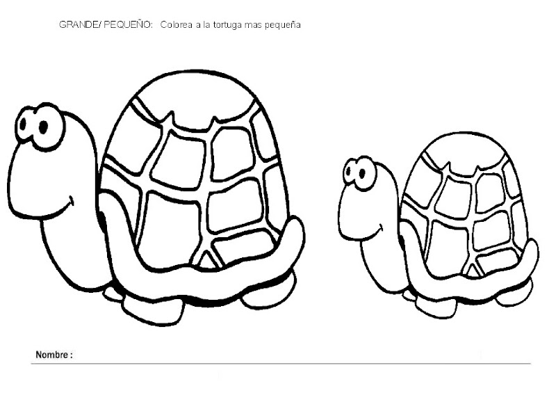 EL RINCÓN DE LOS PEQUES: FICHAS PARA TRABAJAR: GRANDE-MEDIANO Y ...