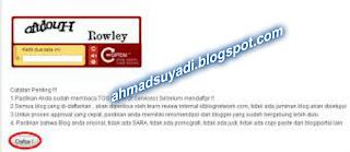 Cara Mendaftar ke IdBlogNetwork ( IBN )