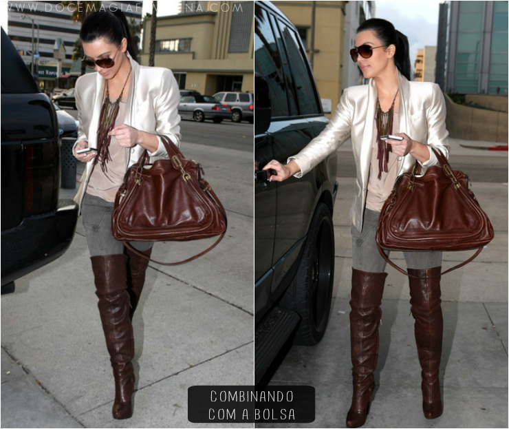 botas over the knee kim kardashian
