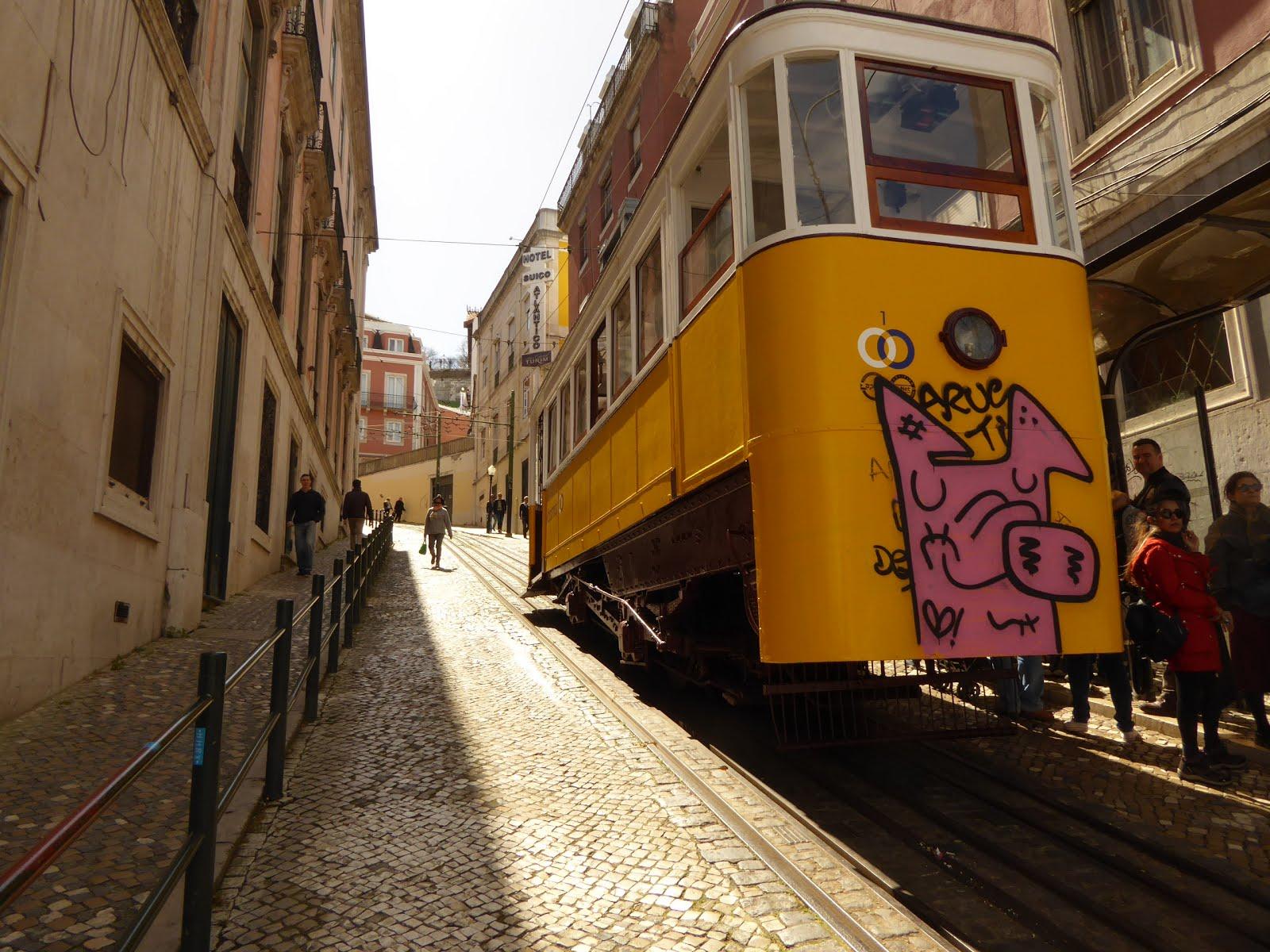 Lisbon Going Up