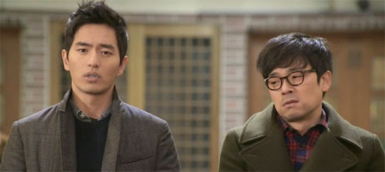 Sun Woo and best friend Han Young Joon played by Lee Seung Joon 이승준.